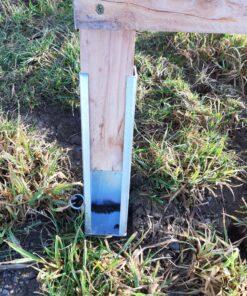 Verlängerungen / Geländeausgleich Drückjagdböcke Metall verzinkt Beispiel