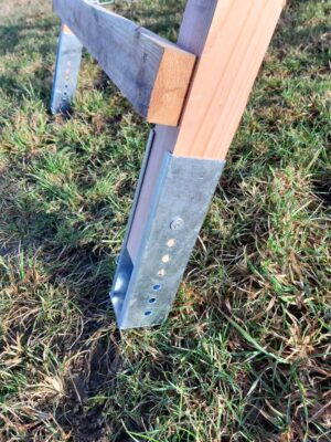 Verlängerungen / Geländeausgleich Drückjagdböcke Metall verzinkt